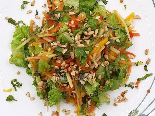 Vietnamese-style Papaya and Mango Salad Recipe