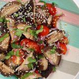 How to Make Shiitake and Cherry Tomato Salad
