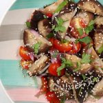 Shiitake and Cherry Tomato Salad: A Fusion of Japanese and Vietnamese