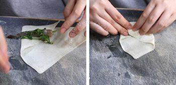How to wrap shrimp spring rolls