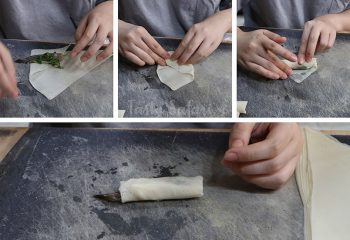 How to Wrap Vietnamese Shrimp Spring Rolls