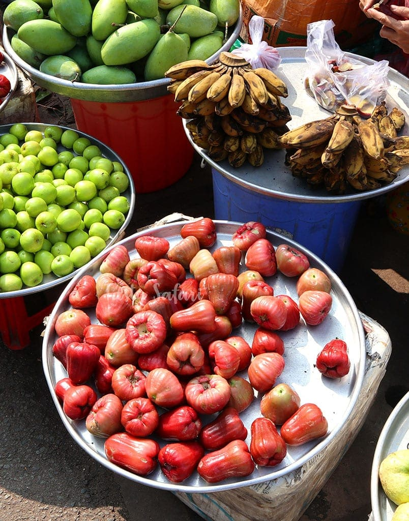 Water apple in Vietnam is called tambis in the Philippines