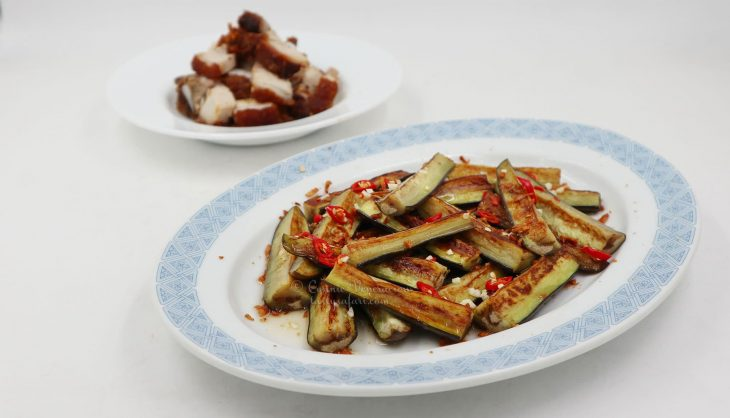 Pan-fried Eggplants with Vietnamese Sweet Sour Chili Sauce