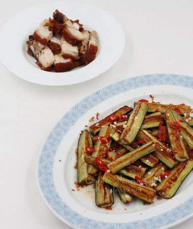 Pan-fried Eggplants with Vietnamese Sweet Sour Chili Sauce Recipe