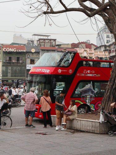 The Hanoi Hop-on-hop-off Bus