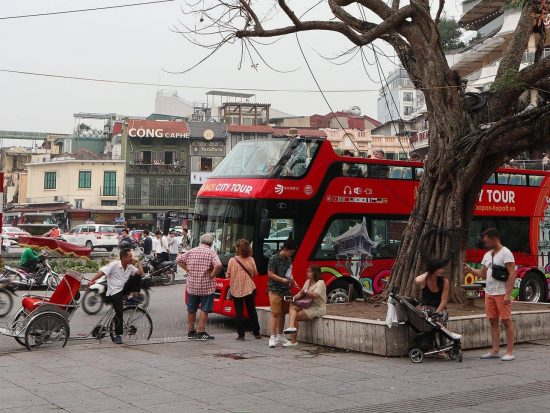 The Hanoi Hop-on-hop-off Bus