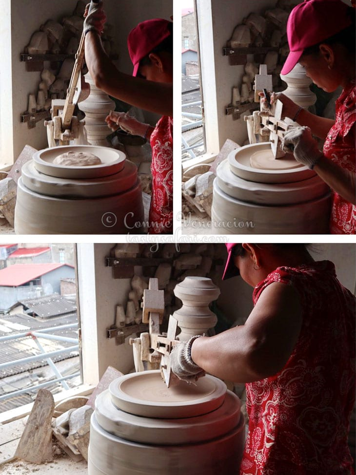 "Making pottery by ""3D printer"""