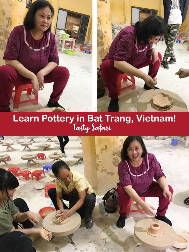 The Authentic Bat Trang Tour and Pottery Class