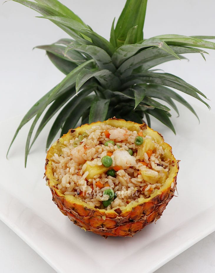 Thai Shrimp and Pineapple Fried Rice Recipe