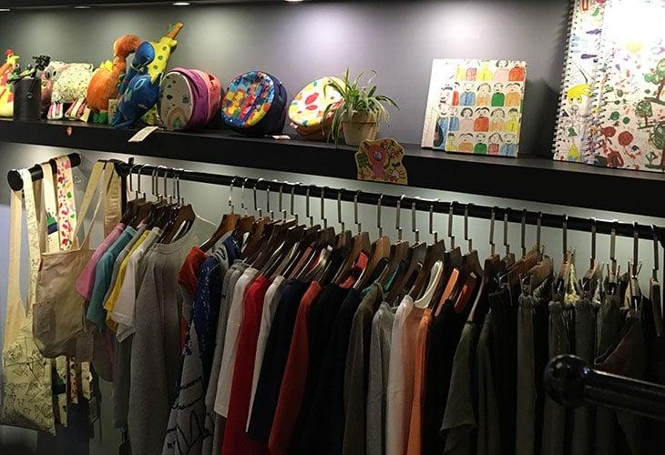 Cotton apparel at Tohe, Hanoi