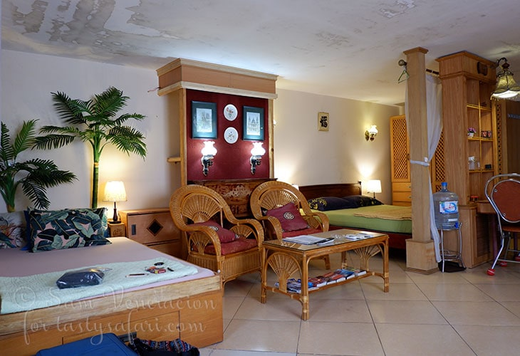 Our 50 square meter Airbnb apartment in Hanoi