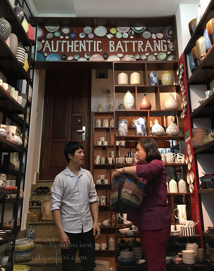 Authentic Bat Trang Shop at the Old Quarter, Hanoi
