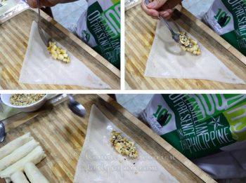 How to make Vietnamese Banana Spring Rolls