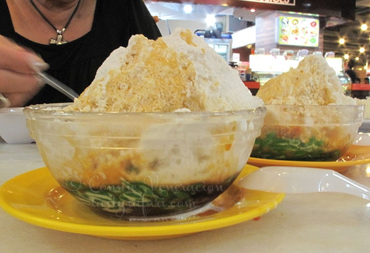 Cendol: a Malaysian sweet snack