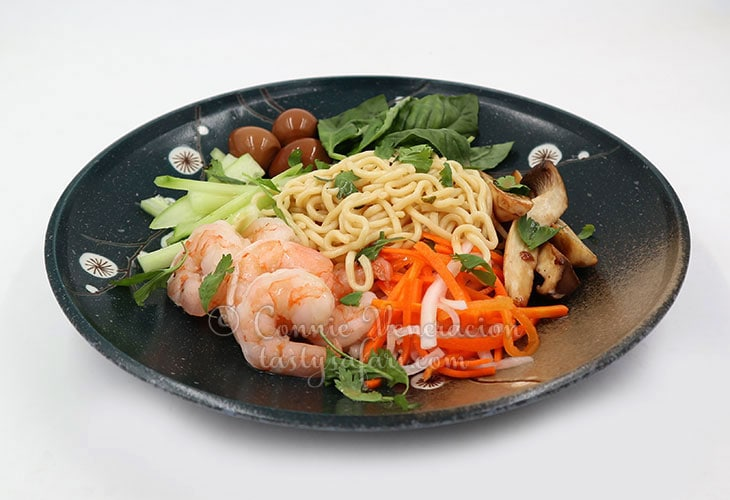 Sweet Tangy Cold Noodles Recipe