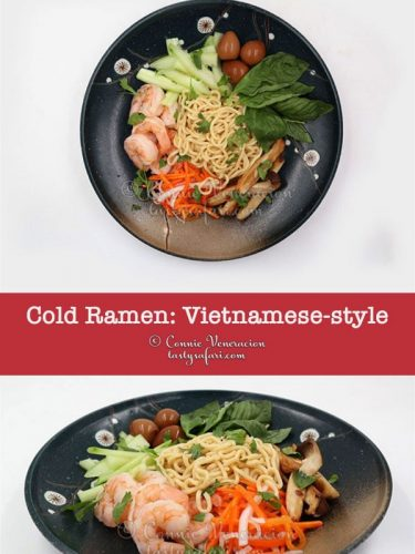Sweet Tangy Cold Noodles: A Perfect Summer Meal