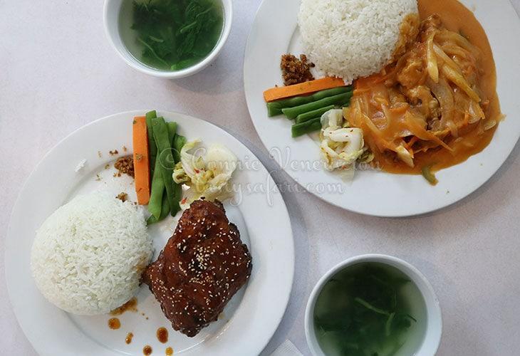 Pork ribs and shrimps, Restaurant 123, Hanoi
