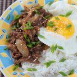 Gyudon (Japanese Beef and Rice Bowl) Recipe