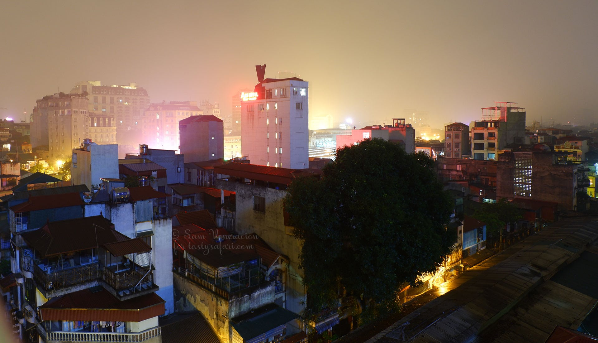 Hanoi at dawn