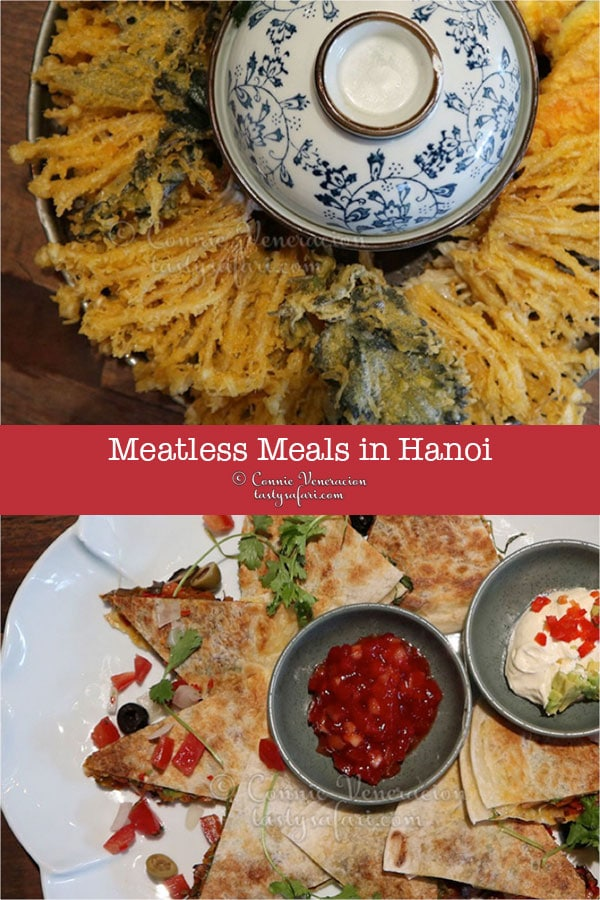 Meatless Meals in Hanoi for Pescatarians and Vegans
