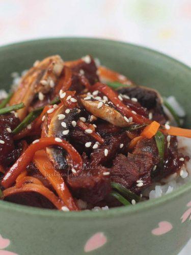 Mongolian Beef Barbecue Recipe