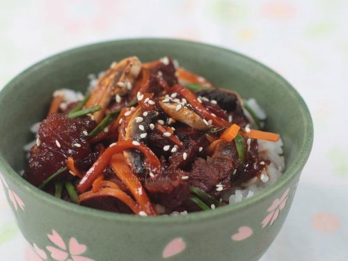 Mongolian Beef Barbecue Recipe