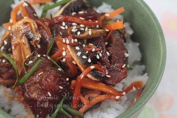 Mongolian Beef Barbecue