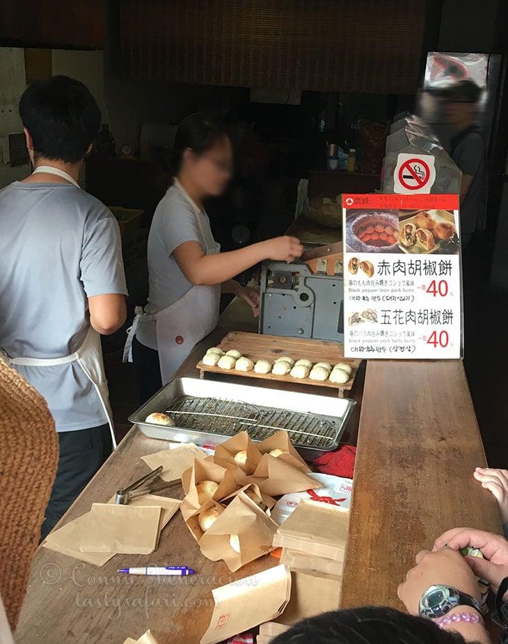 Pork bun store, Tamsui