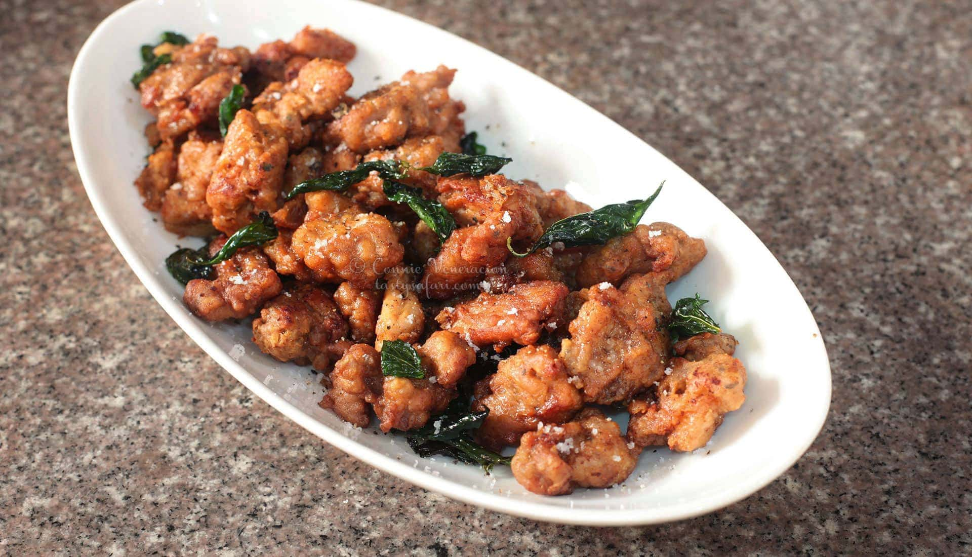 Taiwanese-style Salt-and-Pepper Chicken Recipe