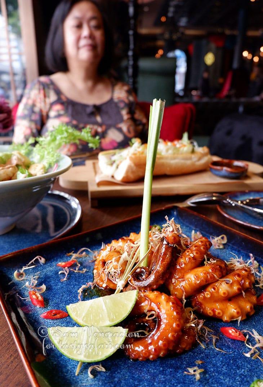 Octopus, SI Cuisine & Mixology, Hanoi