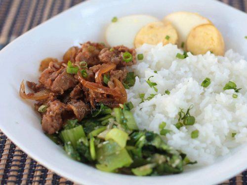 Lu Rou Fan (Taiwanese Braised Minced Pork Over Rice) Recipe