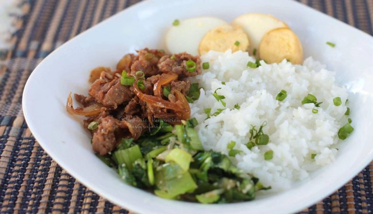 Lu Rou Fan (Taiwanese Braised Minced Pork Over Rice) Recipe