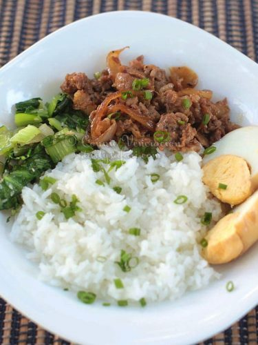 How to Cook Lu Rou Fan (Taiwanese Braised Minced Pork Over Rice)