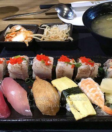Sushi platter, Takao, Taipei
