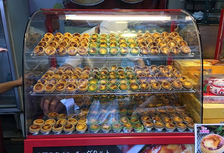 Egg tarts, Tamsui Old Street