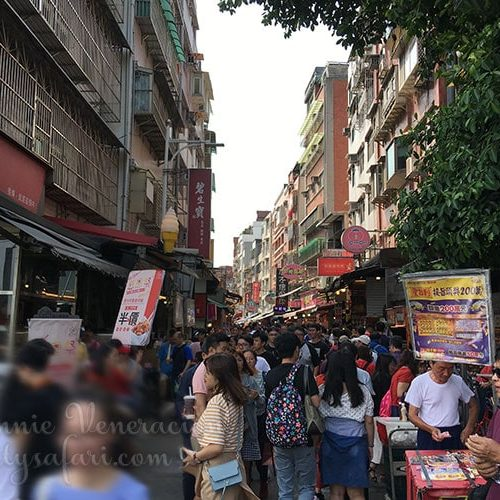 Tamsui Old Street, May 2019