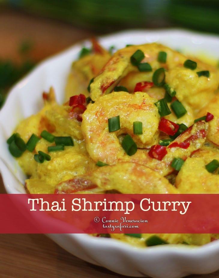 Make Thai Shrimp Curry Today!