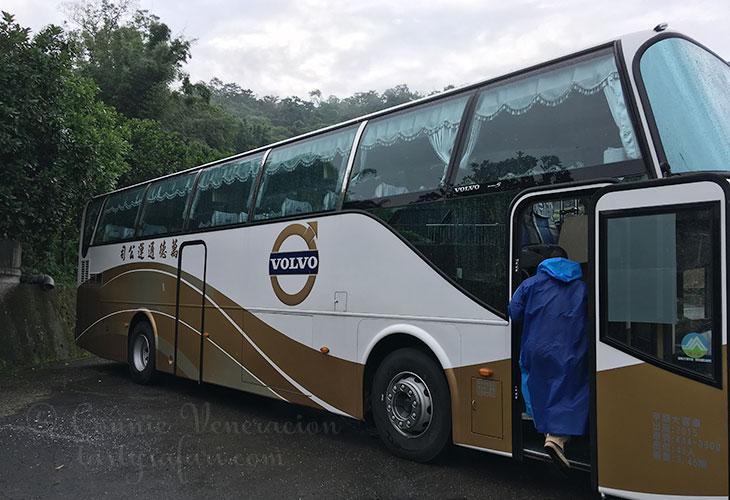 Shifen-Jiufen Tour Bus
