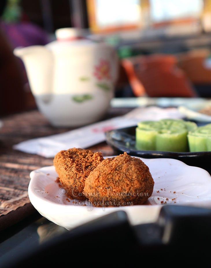 Mochi at Amei Tea House, Jiufen, Taiwan