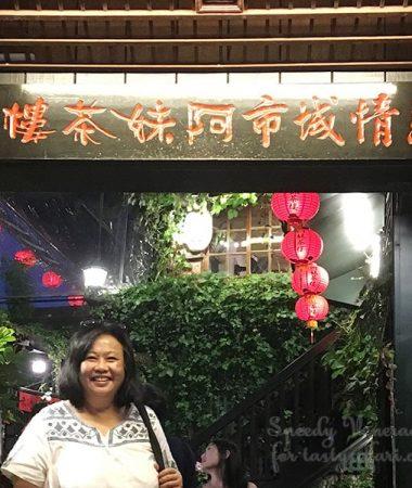 Connie Veneracion in Jiufen, Taiwan