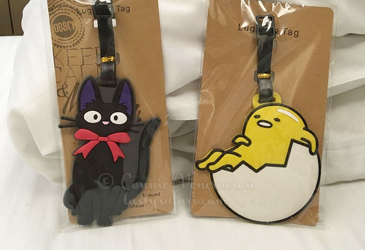 Gudetama luggage tag