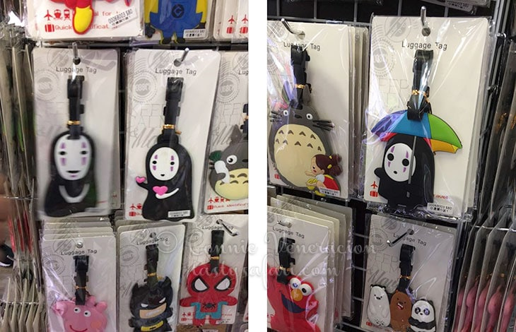 N-Face (from Spirited Away) luggage tags