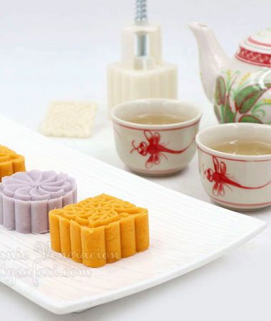 Sweet Potato Cakes Inspired by Amei Tea House in Jiufen