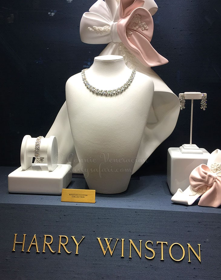 Harry Winston Cluster Collection at Taipei 101