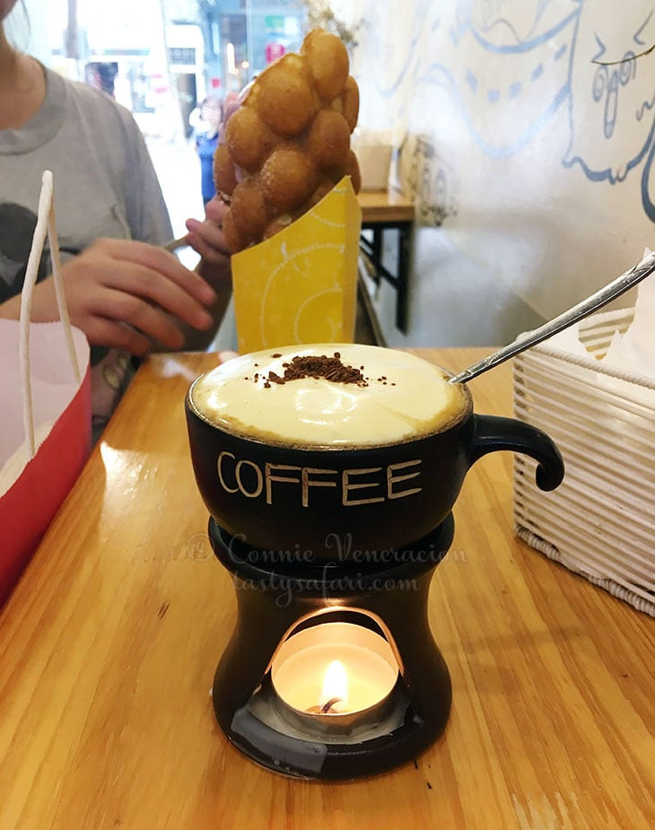 Vietnamese Egg Coffee at Take East Easy Ice Cream & Cafe, Hanoi