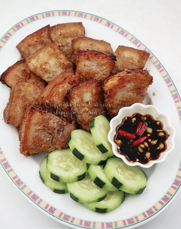 Vietnamese Grilled Lemongrass Pork Belly Recipe