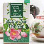 Lotus tea from Saigon