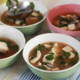 Miso Soup with Bangus (Milkfish) Fillets and Malunggay (Moringa) Leaves Recipe