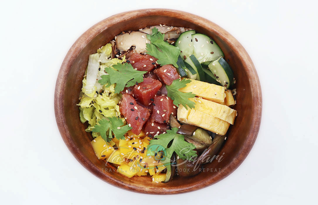 How to make poke bowl at home