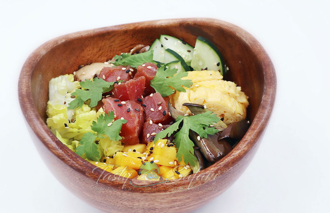Poke bowl recipe